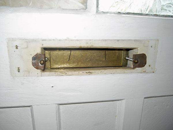 Letter box - front door & Letter box - front door - Karis UK