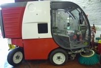 RS500 Road Sweeper Vehicles - Nilfisk